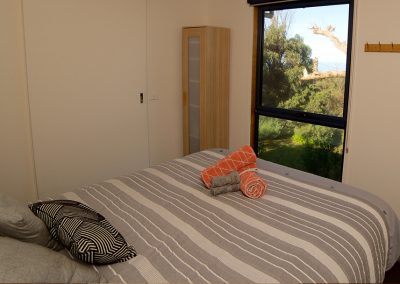Fisheye9 - Great Ocean Road accommodation. Master suite.