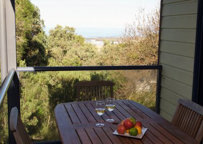 Fisheye9 - Great Ocean Road accommodation. Fire up the barbie and take in the ocean views in the outdoor entertainment area.